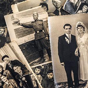 картинка Поиск фотографий предков от магазина Доступная генеалогия