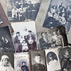 картинка Анализ старой фотографии от магазина Доступная генеалогия